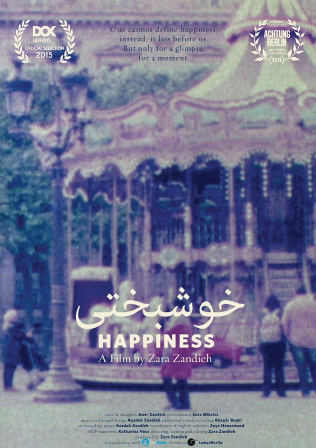 happiness - khoshbakhti - Azadeh Zandieh - Nominated Best Short Film